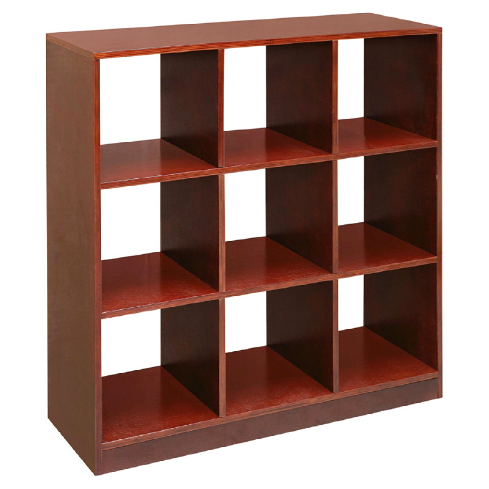 Badger Basket 9 Cubby Storage Unit, Cherry by Badger Basket
