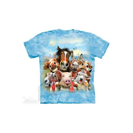 The Mountain Farm Selfie - Ch Big Boys T-Shirt - Boys Farm