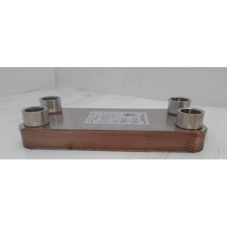 - 10 Plate Water to Water Brazed Plate Heat Exchanger 1