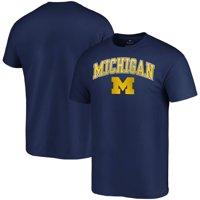 Michigan Wolverines Fanatics Branded Campus T-Shirt - Navy