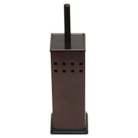 Toilet Brush and Holder, Toilet Bowl Brush for Bathroom, Toilet Cleaner, Odor Free, (Bronze Toilet Brush)