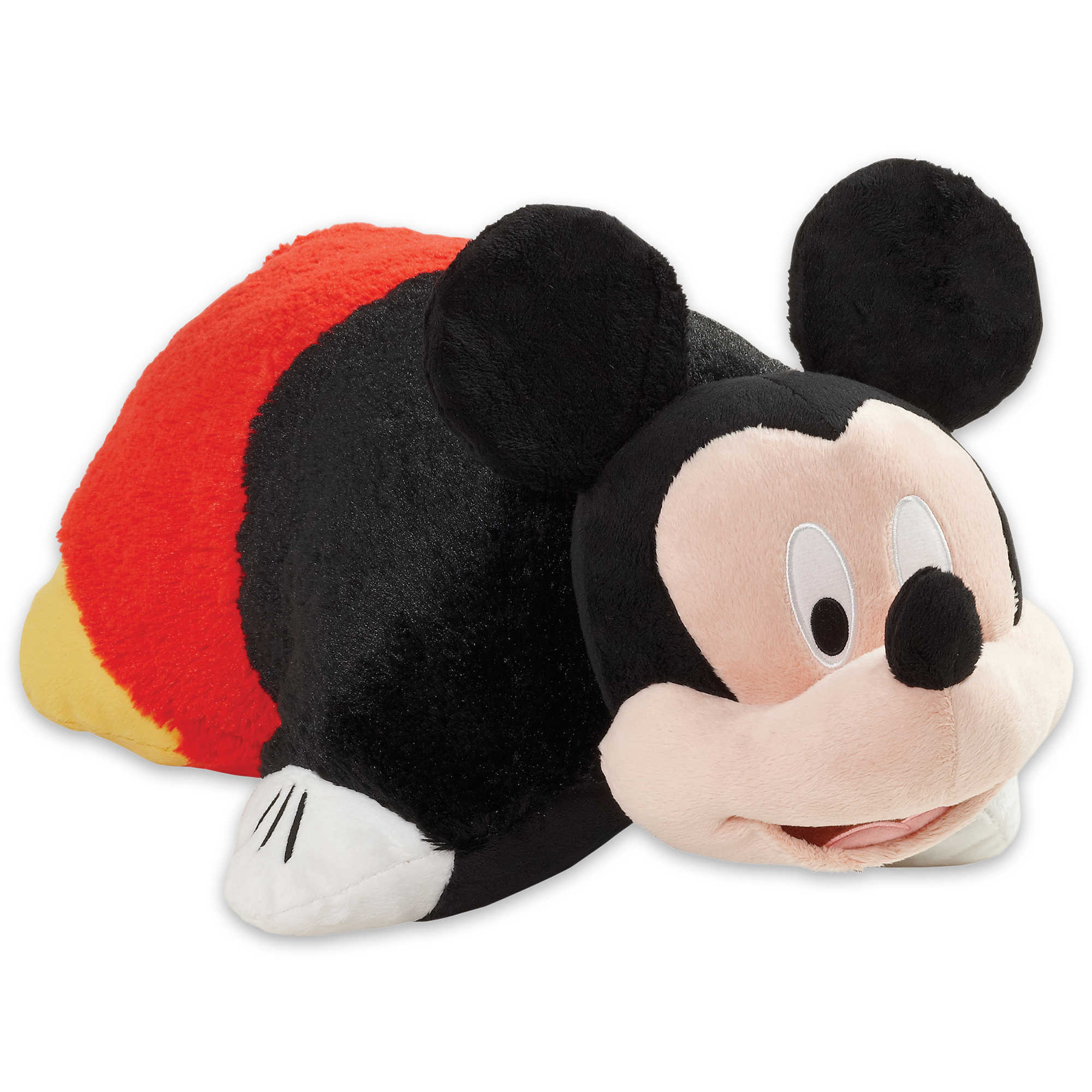 """Pillow Pets 16"""" Disney Mickey Mouse Stuffed Animal Plush Toy Pillow Pet by CJ Products"""