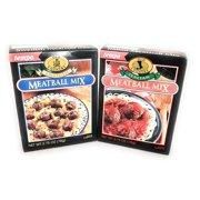 Tempo Swedish and Italian Meatball Mix Bundle One Box Each
