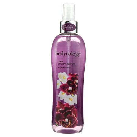 (2 Pack) Bodycology Dark Cherry Orchid Body Mist, 8 fl oz