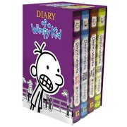 Diary of a wimpy kid books diary of a wimpy kid boxed set books 5 8 hardcover solutioingenieria Choice Image