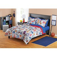 Your Zone Sports Bed in a Bag Coordinating Bedding Set