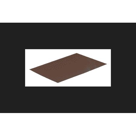 Amerimax Galvanized Steel Flashing Shingle Brown 8 in. H x 1 ft. L x 8 in. W Roof Flashing