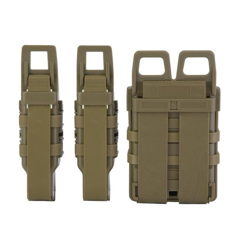 Magazine Pouch,Zerone Tactic Molle Holster Magazine Bag Rifle Pistol Mag Pouch Set for Military Hunting Game