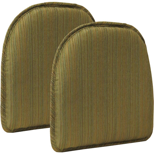 """Gripper Non-Slip 15"""" x 16"""" Harmony Chair Pad, Set of 2 by Klear Vu Corporation"""