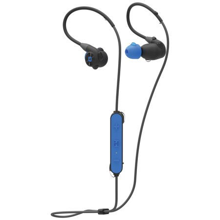 iHome iB76 Splash Proof, Sweat Proof & Shock Proof Bluetooth Sport Ear Hooks with Mic and Pouch
