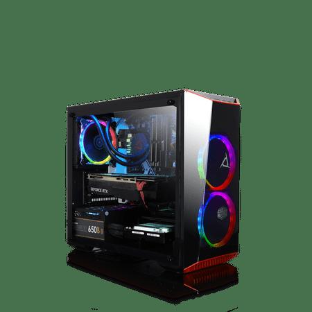 CLX Set GAMING PC Intel Core i7 9700K 3.60 GHz (8 Core) 16GB DDR4 2TB HDD & 480GB SSD NVIDIA RTX 2070 8GB GDDR6 MS Windows 10