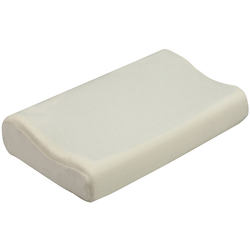 "HealthSmart Memory Foam Pillow with Cooling Gel, 12"" x 19.5"" x 4"""