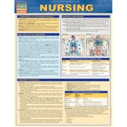 BarCharts 9781423221616 Nursing Quickstudy Easel