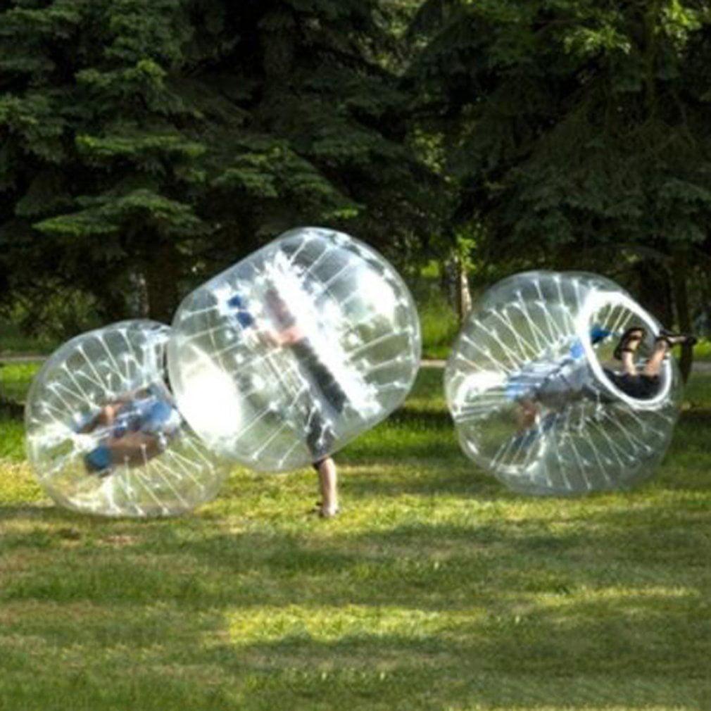 Transparent 0.8mm PVC Inflatable Bumper Ball Entertainment Human Knocker Ball Bubble... by