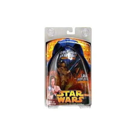 Star Wars Revenge of the Sith 2005 Duel at Mustafar Obi-Wan Kenobi Action