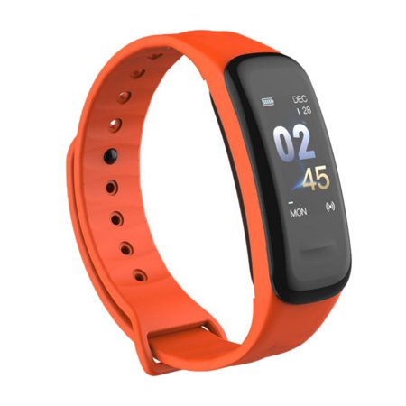 Fysho Plus Smart Wristband Color Screen Bluetooth Step Counter Heart Rate Monitoring Sports Smart Wristband