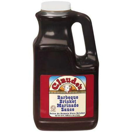 Claude's: Barbeque Brisket Marinade Sauce, 64 Fl Oz