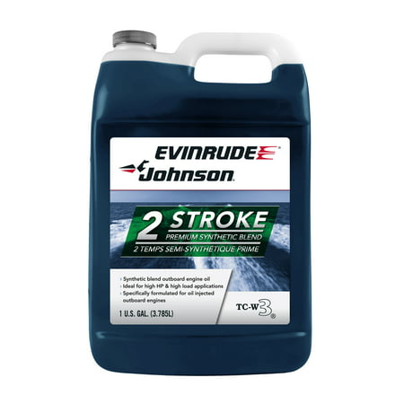 Evinrude/Johnson Semi-Synthetic Outboard Oil (Best 20 Hp Outboard Motor)