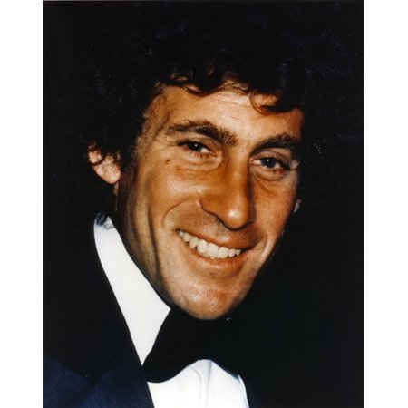 Paul Glaser smiling Portrait in Tuxedo Photo Print (30 Gläser)