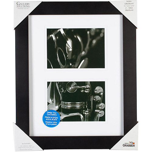Pinnacle Frame Gallery Mat Frame, 11x14, Black