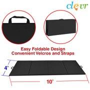 "Clevr 10'X4'x2"" Gymnastics Tumbling Exercise Folding Martial Arts Floor Mat Pads"