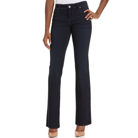kut from the kloth women's natalie high rise bootcut jean, winsome