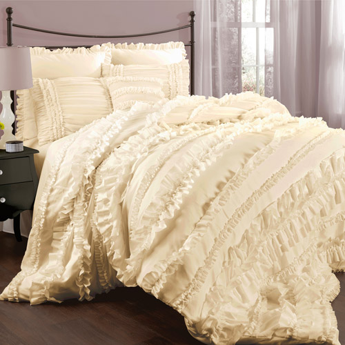 Belle 4-Piece Bedding Comforter Set by Triangle Home Fashions