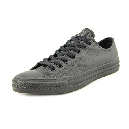 Converse Chuck Taylor All Star Leather Ox Round Toe Leather Sneakers -  Walmart.com 834aa23283