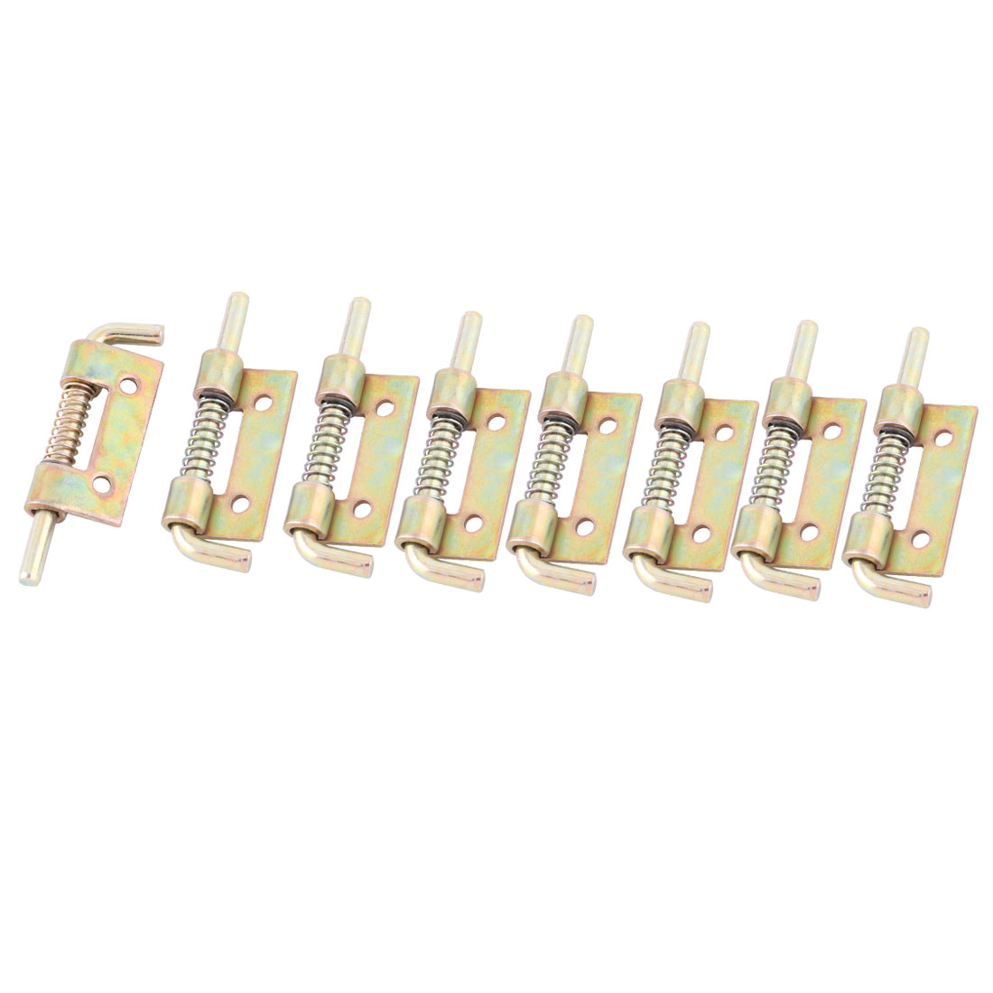Passage Stainless Steel Furniture Door Gate Spring Latch 2 Inch Length 8 Pcs