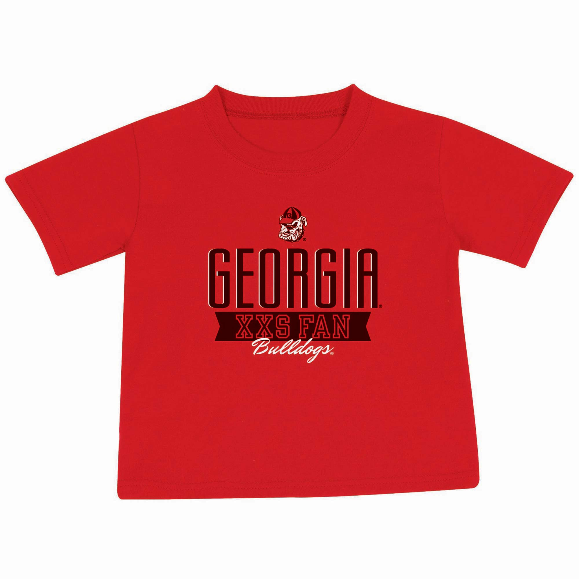Toddler Russell Red Georgia Bulldogs T-Shirt