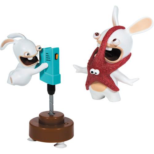 Nickelodeon Rabbids Invasion The Driller & Starfish Friend Sound and Action Figures, 2-Pack