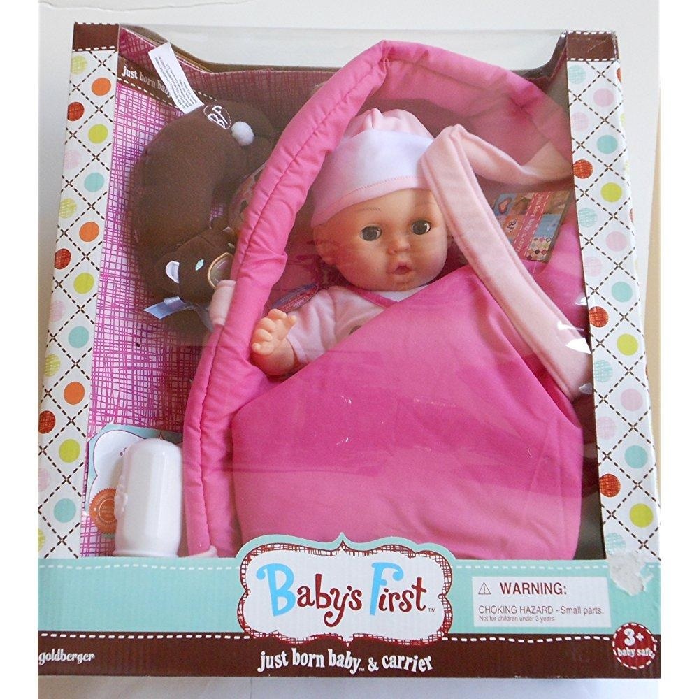 9eacbd9767f Baby's First Just Born Baby Doll   Carrier – Walmart Inventory ...