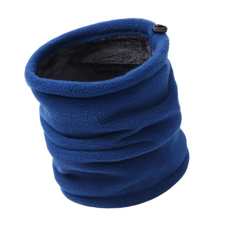 Unisex Double Layer Fleece Drawstring Windproof Face Mask Warm - Two Layer Windproof Fleece