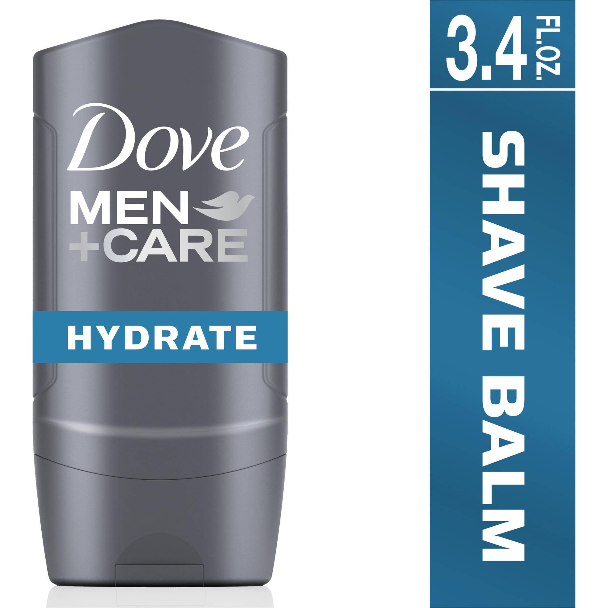 Dove Men+Care Hydrate Plus Post Shave Balm, 3.4 oz