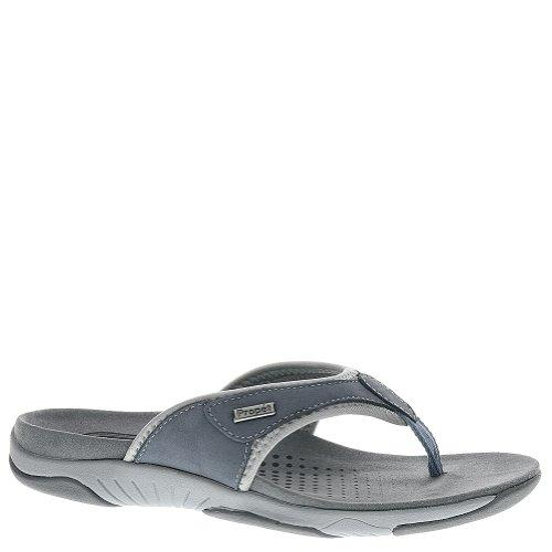 Propet Hartley Women US 8 2A Blue Thong Sandal by