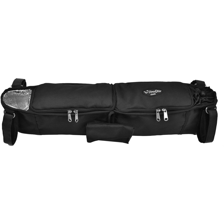 StrollAir Double Stroller Organizer/Console - Black