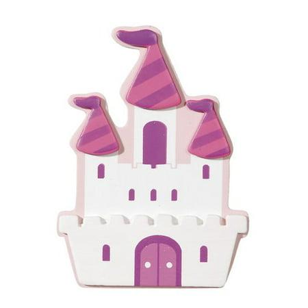 Darice Painted Princess Castle Shape, 1 Each