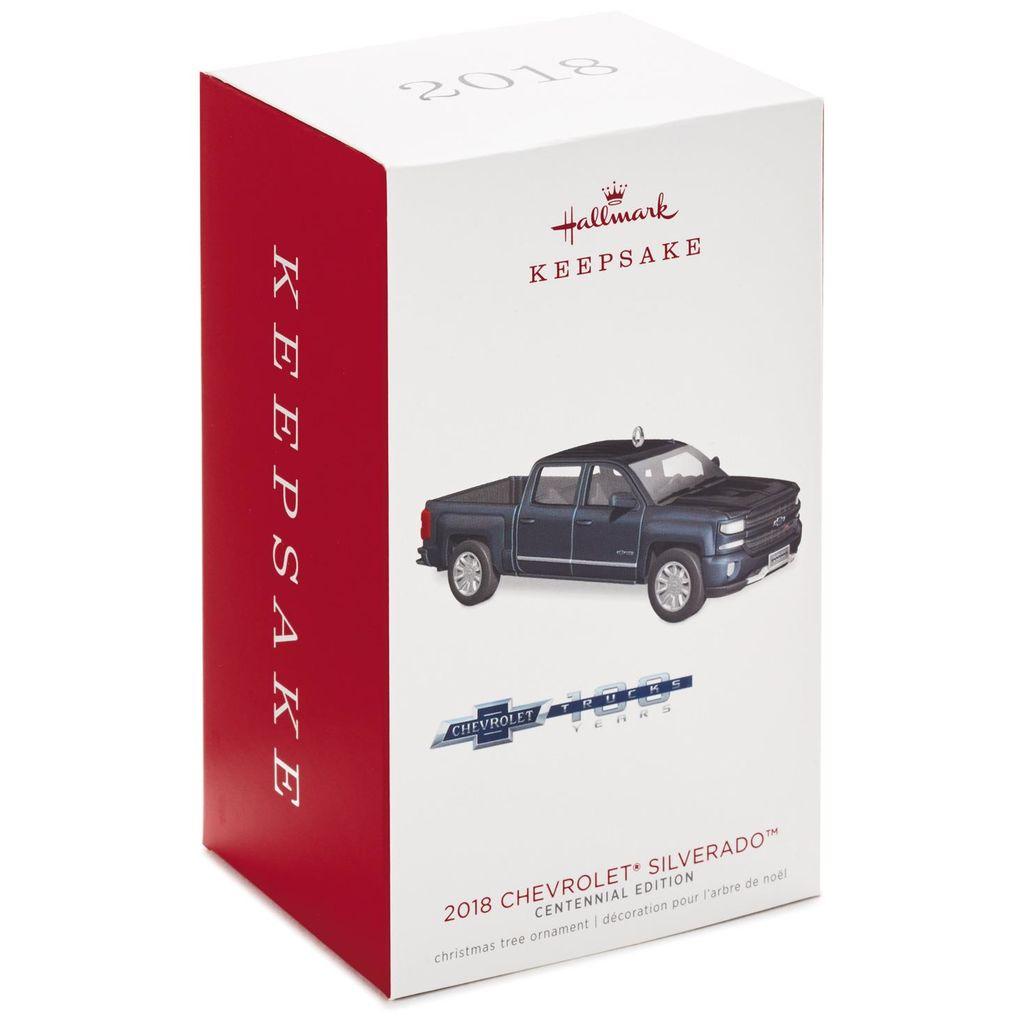 Hallmark Keepsake 2018 Chevrolet® Silverado® Centennial Edition Metal Ornament