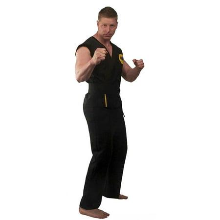 The Karate Kid DELUXE Cobra Kai Replica Gi Costume - Cobra Kai Skeleton Costume