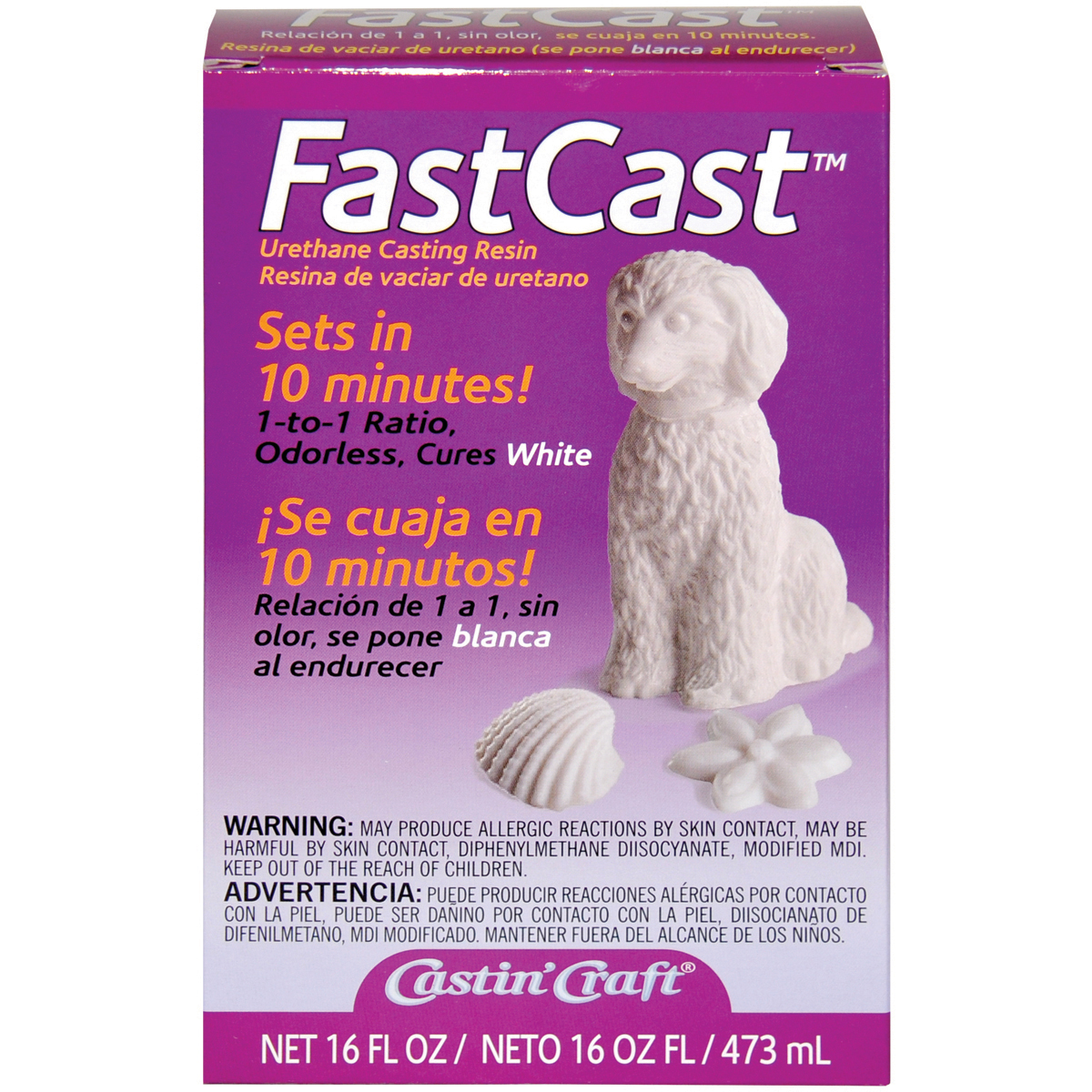 Castin' Craft FastCast White Casting Resin, 16 oz