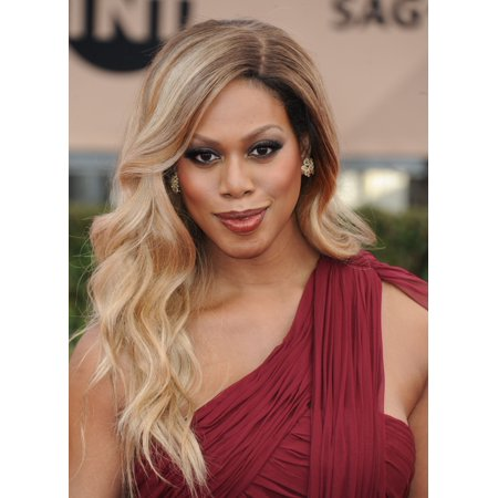 Laverne Cox At Arrivals For 22Nd Annual Screen Actors Guild Awards  Sag    Arrivals 1 Canvas Art     16 X 20