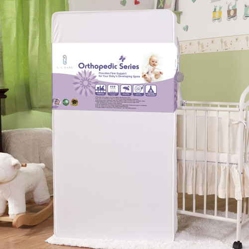 L.A. Baby Promotional 150 Coil 6'' Crib Mattress