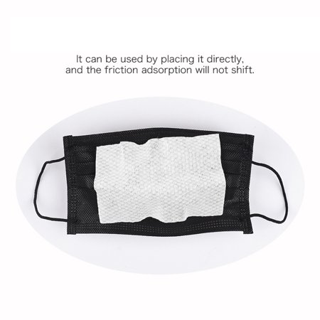 100PCS Disposable medical Face Masks Gasket Safety Health Care Mouth Face Mask Filter Pad - image 2 of 8