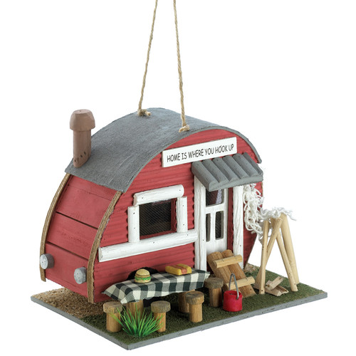 Zingz & Thingz Trailer 7 in x 8.5 in x 6 in Birdhouse by Zingz & Thingz