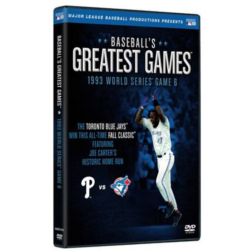 Baseball's Greatest Games: 1993 World Series Game 6 by ARTS AND ENTERTAINMENT NETWORK