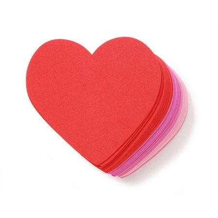 Foamies Large Foam Hearts: 3-Color Value Pack