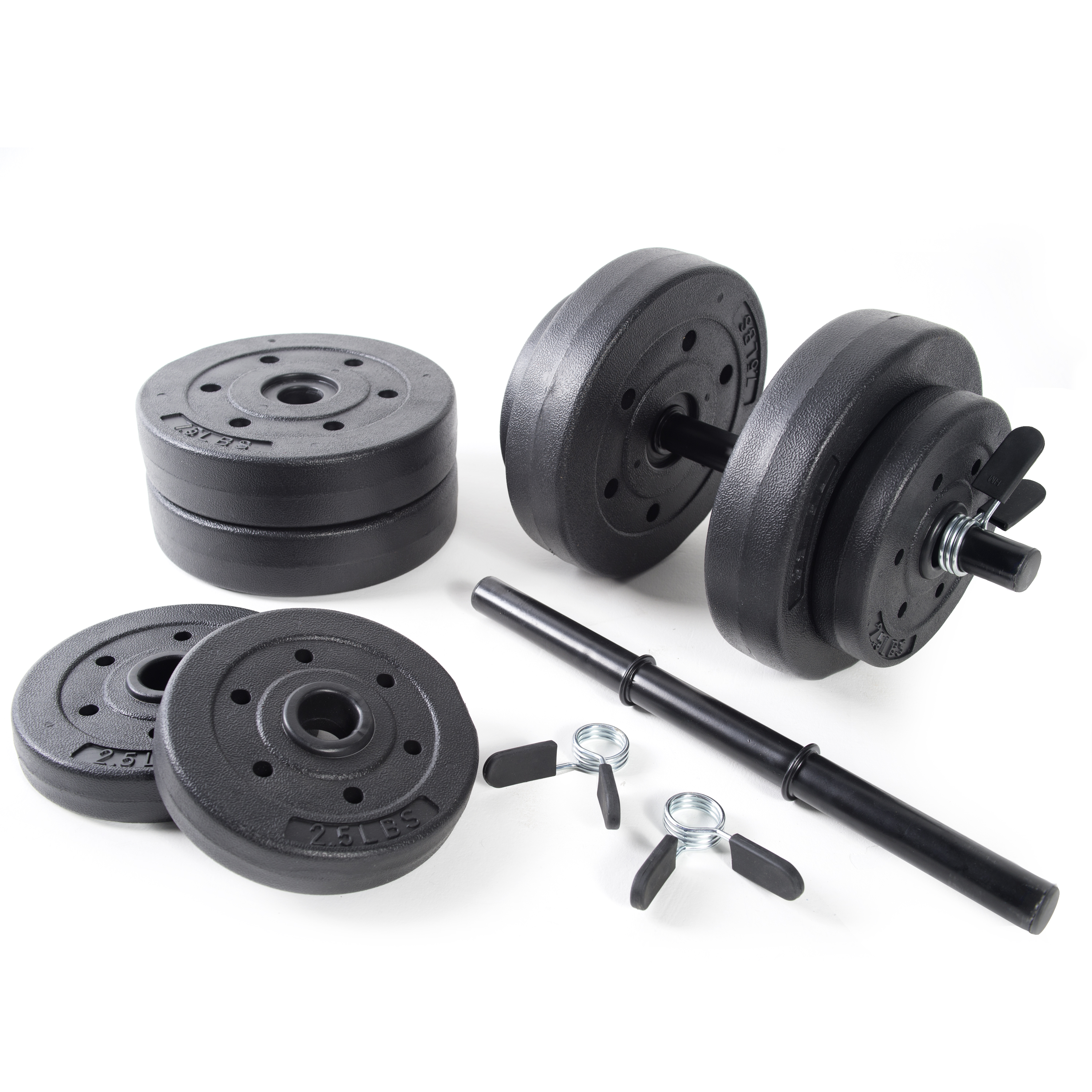 Swell Golds Gym Vinyl Dumbbell Set 40 Lbs Walmart Com Gmtry Best Dining Table And Chair Ideas Images Gmtryco