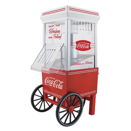 OFP501COKE Coca-Cola 12-Cup Hot Air Popcorn Maker, popcorn Store Drink RKP630COKE Warmer 16Cup Nostalgia 12Cup Electrics Popper 12cups up ea per Dog.., By Nostalgia Ship from US