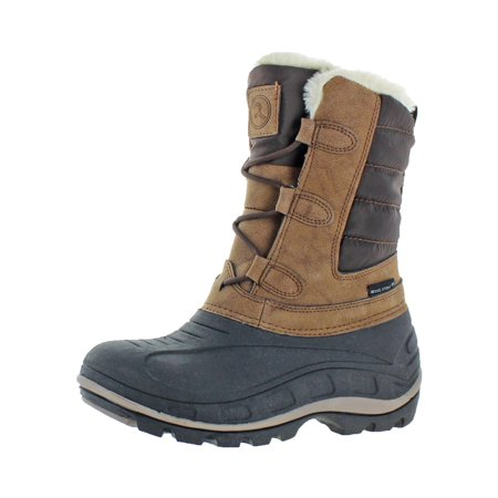 - Revelstoke Womens Hannah Faux Fur Lined Mid Calf Winter Boots