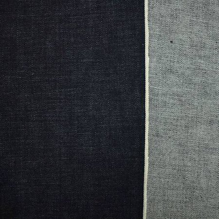 Navy Blue Cotton Japanese Selvedge Denim Fabric By The